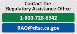 Contact the Regulatory Assistance Office