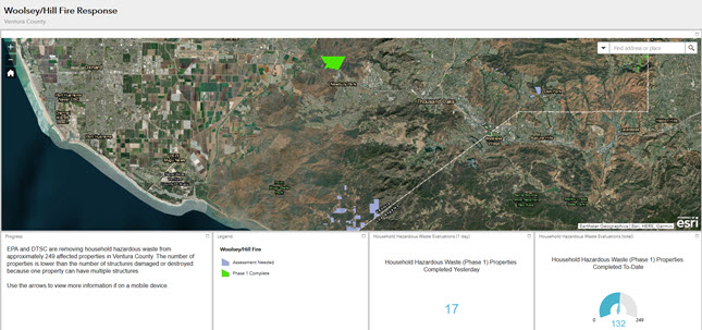 Hill Fire Response Public Dashboard