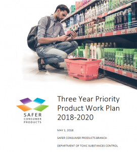 2018-2020 Priority Product Work Plan