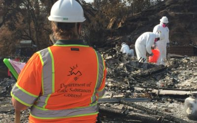 Wildfire Cleanup Update: Nearly One Thousand Properties Cleared of Household Hazardous Waste at LNU; North Complex Fire Operations Underway